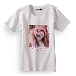 Développement photo sur Tee-shirt