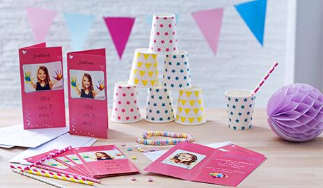 Cartes photos personnalisées anniversaires