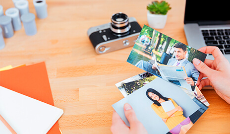 Photo smartphone famille