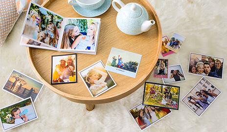 Personnalisation avec vos propres photos
