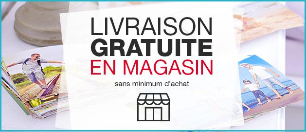 Livraison gratuite en magasin Auchan