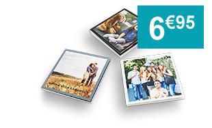 Livre photo personnalisé carré